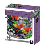 Flight Of The Macaws 2D 1000 Piece Howard Robinson Puzzle