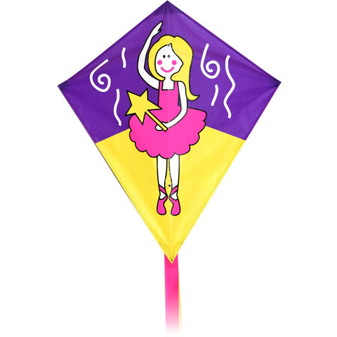 Junior Diamond Kite 3 designs to choose from. Dog, Dino or Fairy