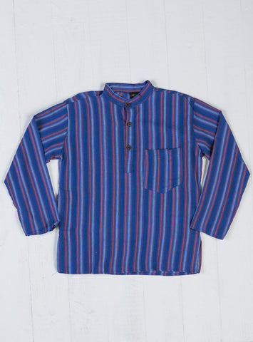 Gringo Fair Trade Nepalese Striped Cotton T-Shirt