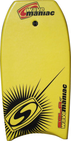 "Sola 42"" Wave Maniac Bodyboard with Leash"