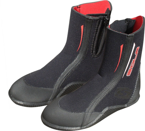 Sola Childrens 5mm Neoprene Zipped Wetsuit Boot