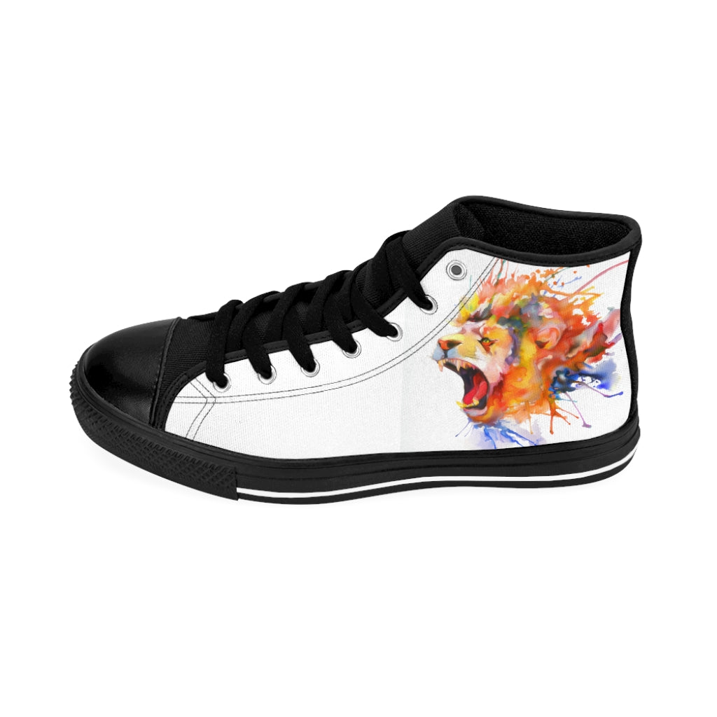 COLORFUL LION Women's High-top Sneakers