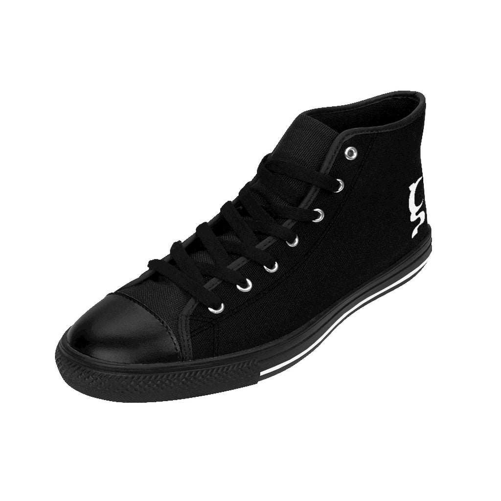 YOUNG, RICH & UN STOPPABLE Men's High-top Sneakers