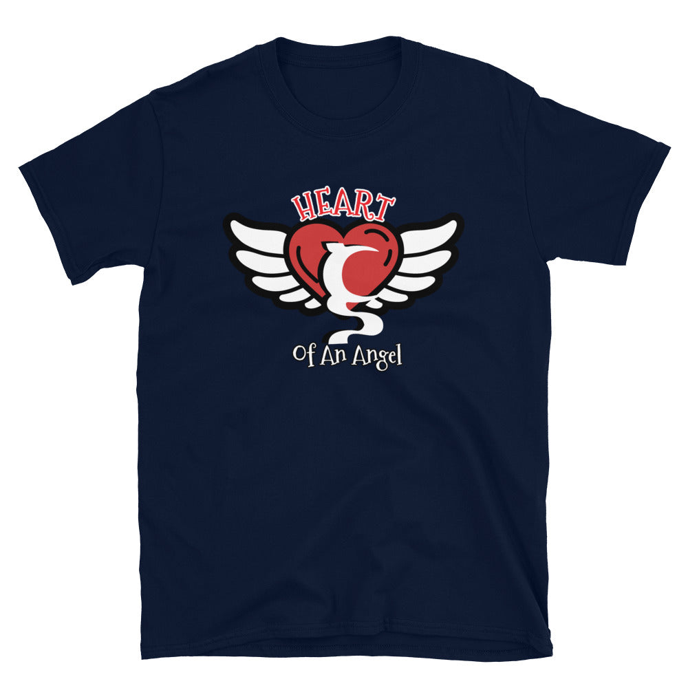 Heart Of An Angel Short-Sleeve T-Shirt