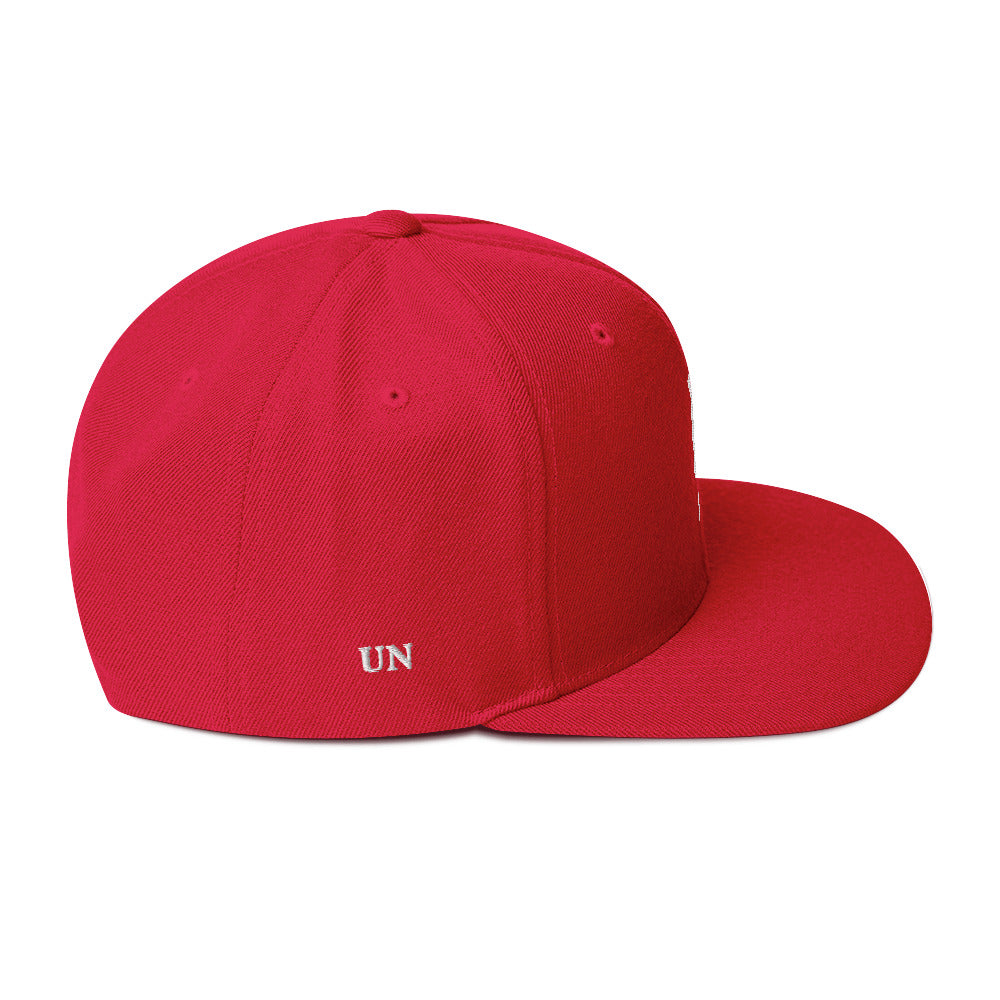 Embroidered White UN Logo in 11 different colors