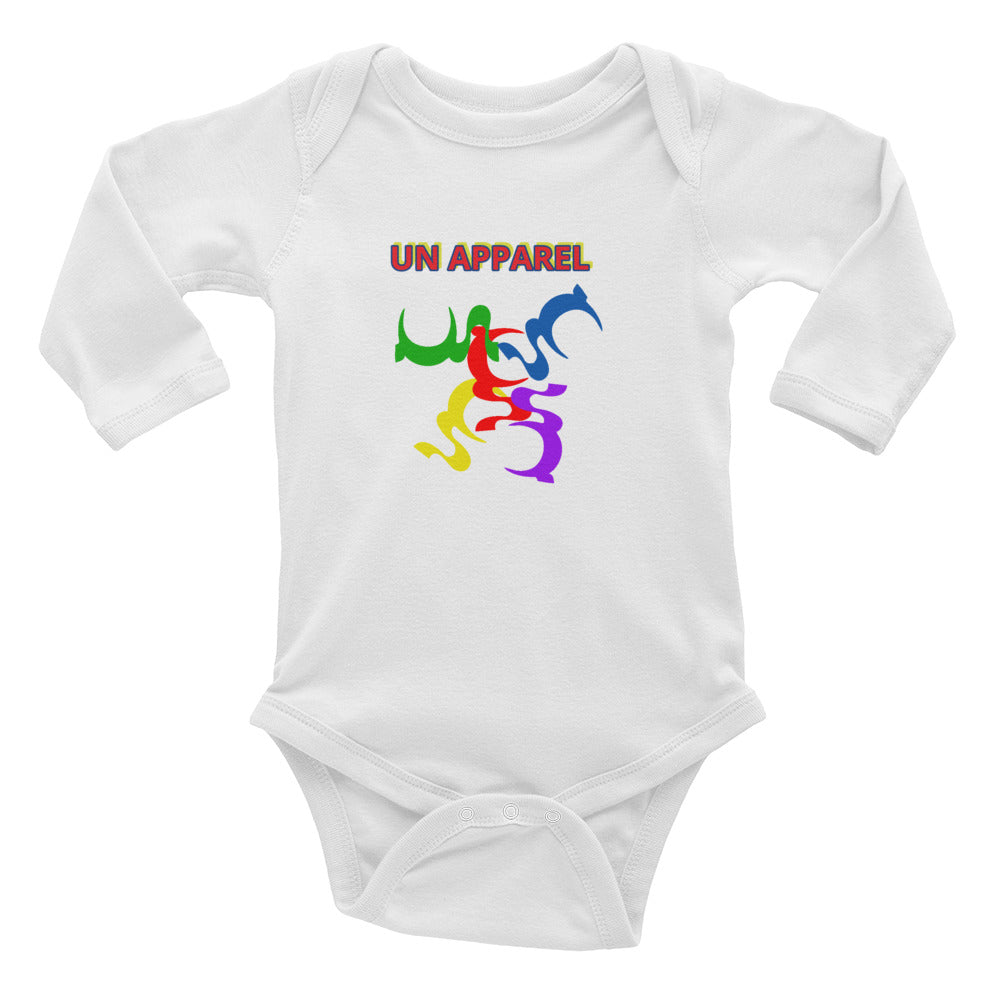 UN resistible Infant Long Sleeve Bodysuit