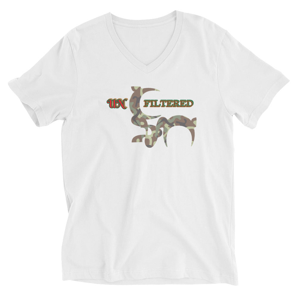 UNfiltered Unisex V-Neck T-Shirt *