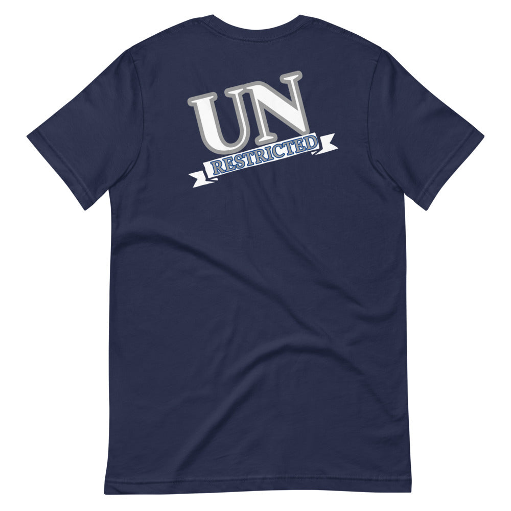UN RESTRICTED Short-Sleeve Unisex T-Shirt. *