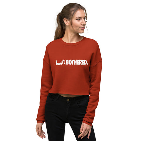 UN BOTHERED Crop Sweatshirt