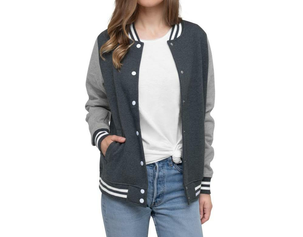 Women UN Apparel Letterman Jacket