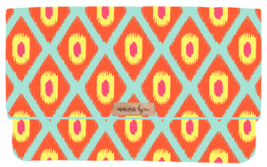 Ikat in Papaya/ Bone - Everyday