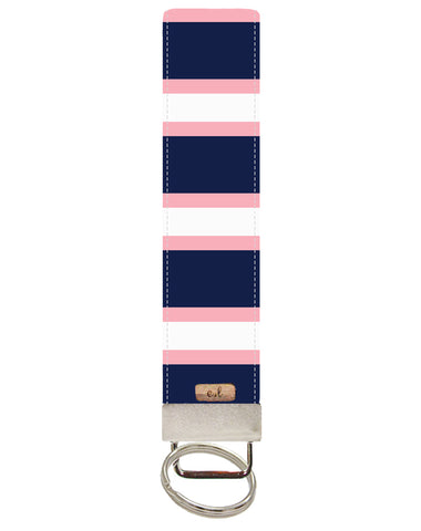 Navy and Pink Stripes