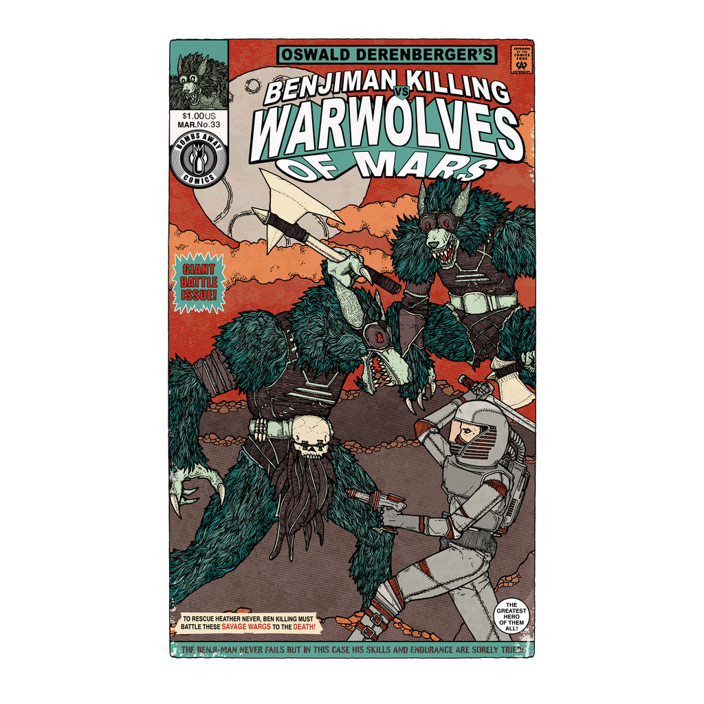 War Wolves of Mars