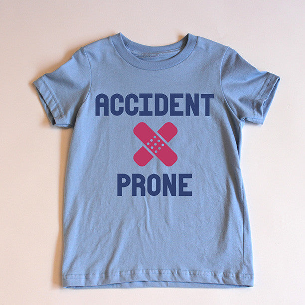 """Accident Prone"" Short Sleeve Tee (Out of Stock)"