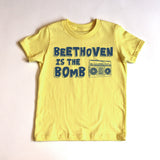 """Beethoven is the Bomb"" Short Sleeve Tee (PRE-ORDER)"