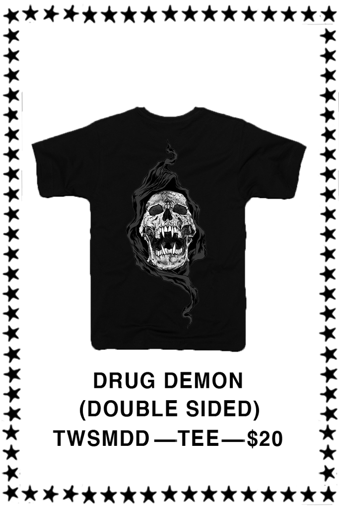 SKULLS OF METAL - DRUG DEMON T-shirt