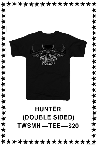 SKULLS OF METAL - HUNTER T-shirt