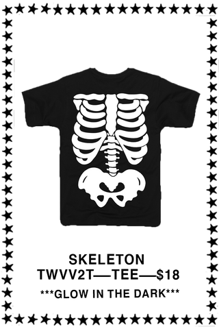 Skeleton Glow-In-The-Dark T-Shirt