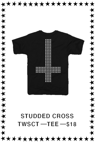Studded Cross T-Shirt