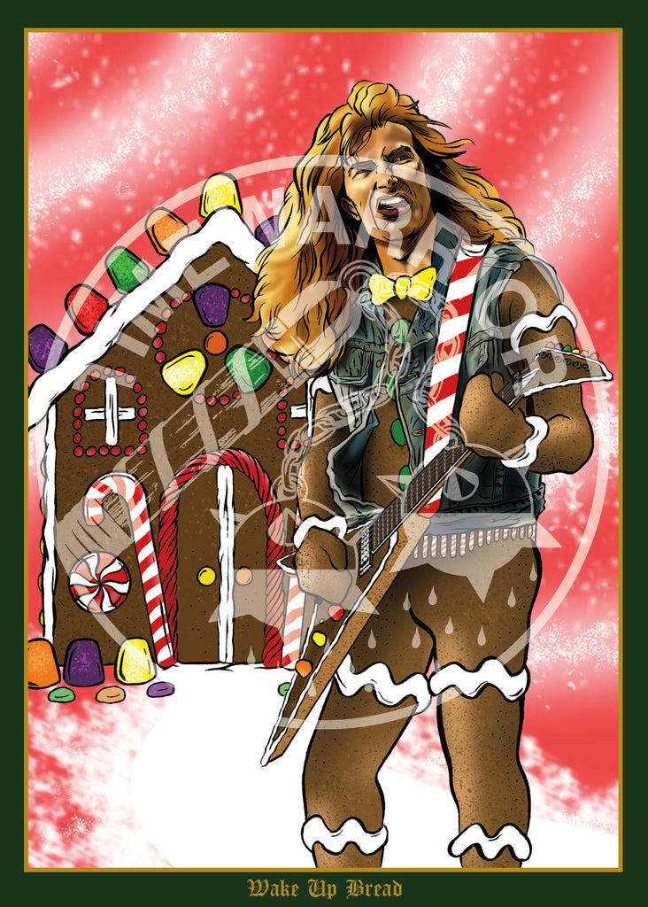 heavy metal heroes holiday cards - Heavy Metal Christmas