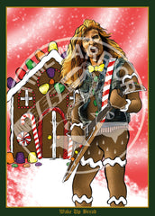 Heavy Metal Heroes Holiday Cards
