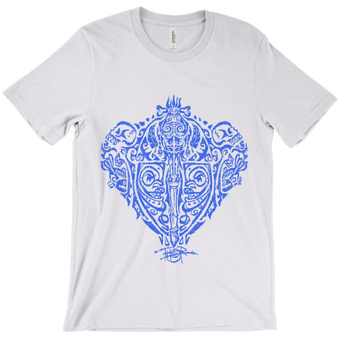 Headhunter Tribal Tat BLUE (Men/Unisex)