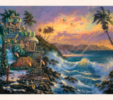When looking at Tom Thordarson's escape art Hale Pama, you can almost hear the melodic sound of the Hawaii wind passing through the coconut palms.