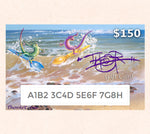 $150 Gift Card featuring Tom Thordarson's fantasy artwork Water Sporks