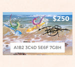 $250 Gift Card featuring Tom Thordarson's fantasy artwork Water Sporks