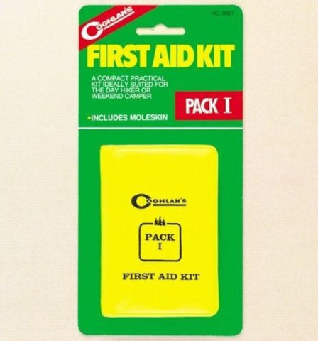 Coghlans #0001 Pack I First Aid Kit 23 Pieces for Emergencies Camping Hiking