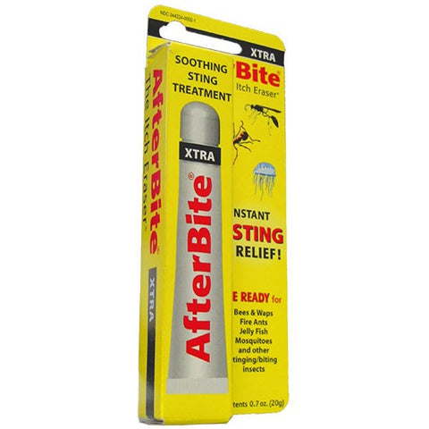 AfterBite Xtra for Stings Bug Bites Pain Immediate Relief Insects Camping AMK