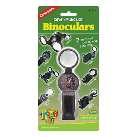 Coghlan's 0235 - 7 Function Binoculars For Kids- Compass Mirror Spyglass