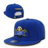 College University Hat School Sports Snapback Baseball Cap WRA 1002
