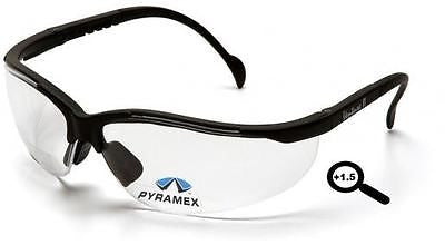 Pyramex V2 Reader +1.5 Lens Safety Glasses SB1810R15 Job Work Sport Eyewear ANSI