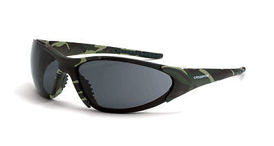 Radian Crossfire Core Safety Glasses Military Green Camo Frames 18171 ANSI Z87