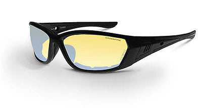 Radian Crossfire 710 Safety Glasses I/O Anti-Fog Lens Foam Lined 35231 ANSI Z87+