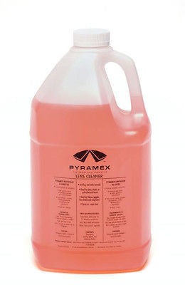 Pyramex 1 Gallon of Lens Cleaning Solution Hunting Safety Glasses Goggles Work