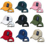 Washed Cotton Polo Cap Baseball Cap Hat Decky 960