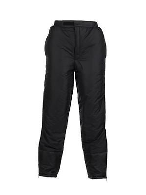 SNUGPAK SP6 INSULATED PANTS BLACK MILITARY TACTICAL COLD WEATHER WEAR CAMP GEAR