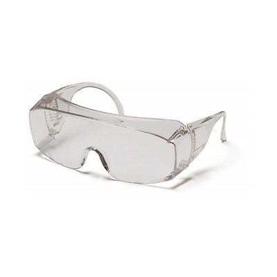 Pyramex Solo Jumbo Safety Glasses Fit Over Prescription Eyewear S510SJ Jobs Work