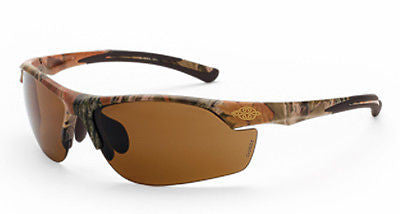Crossfire Sunglasses, AR3 Woodland Brown Camouflage Frame, HD Brown Lens 16146
