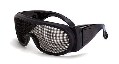 Radians Crossfire Wire Mesh Tactical Safety Glasses Job Work Anti-Fog Lens 19218