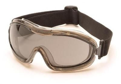Pyramex G724T Chemical Goggles Eyewear Safety Eye Protection Gray Anti Fog Lens