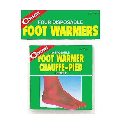 Coghlan's Disposable 4 Hour Foot Feet Warmers Camping Shoes Boots Coghlans #0047