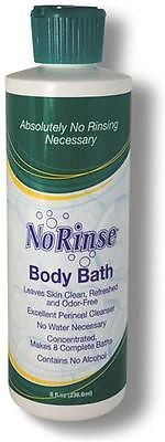 Cleanlife No Rinse Body Bath 16 Oz. for Freshness & Cleaning- Case of 12