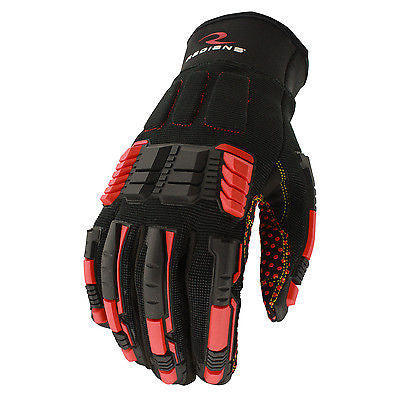 Radians RWG602 Oil & Gas Work Gloves PVC Grip Impact Protection Durable Washable