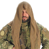 Face Veil OD Camouflage Tactical Conceal Equipment Gear Hunting Military Camcon