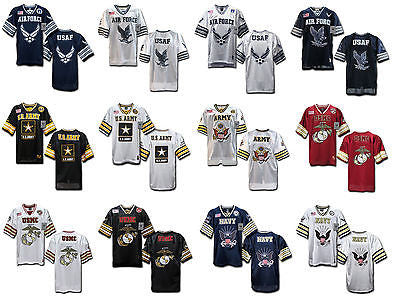 c879697df Military Football Jersey Marine Corps Navy US Air Force Army Rapdom R11 ...
