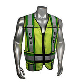 EMS Emergency Rescue Squad Emergency Reflective Safety Vest Mesh Radians Radwear