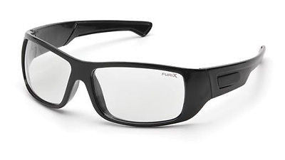 Pyramex Furix Sports Sun Glasses Anti-Fog Clear Polycarbonate Lens UV Eyewear